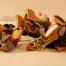 Zoccoli in legno con tessuto cliente